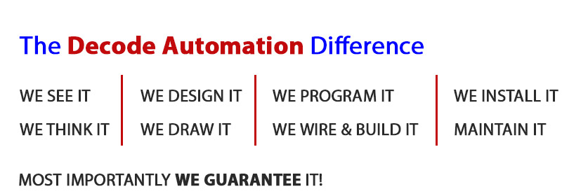 Decode Automation Difference